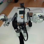 LEGO NXT Robot executing synthesized control program